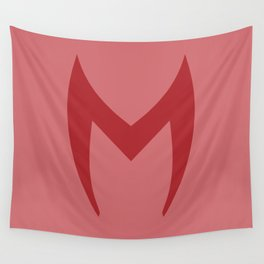 Scarlet Witch Mask Wall Tapestry
