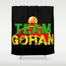 Team Gohan Shower Curtain