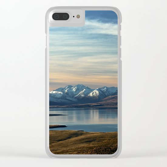 Lake Tekapo, New Zealand Clear iPhone Case