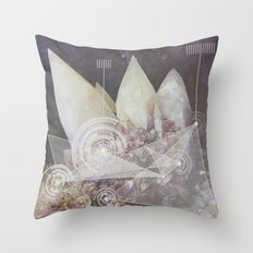 Harmonic Broadcast  Throw Pillow