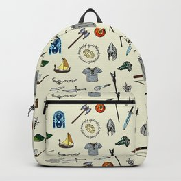 Lord of the pattern Backpack