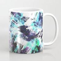 san diego Mugs featuring San Diego by Kardiak