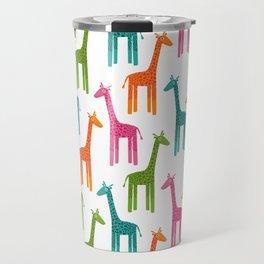 Giraffes-Multicolor Travel Mug