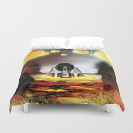 Surrounded by the Cult of the Desert Rose Duvet Cover