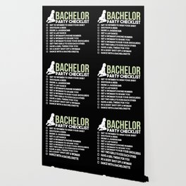 Bachelor Party Checklist Wallpaper