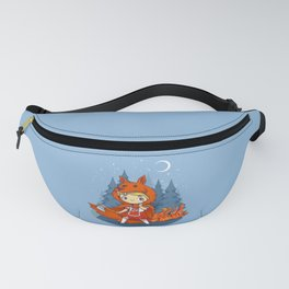 Red Hood Wolf Fanny Pack