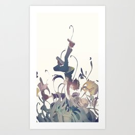 Boku no hero Art Print