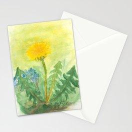 Dandelion In The Garden Stationery Cards