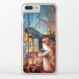 Essence of Silence Clear iPhone Case