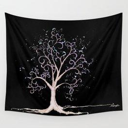 Dark elven tree Wall Tapestry