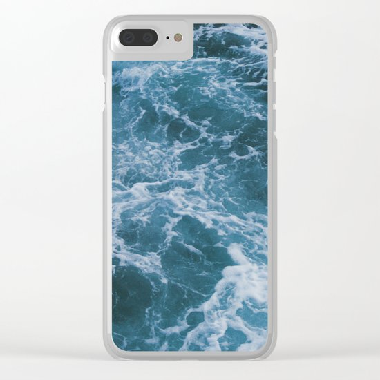 Deep Water Clear iPhone Case