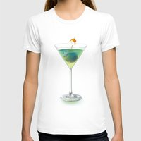 cocktail T-shirts featuring Cocktail by Etienne Chaize