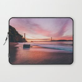 Washed-up Treasure Chest at Kirby Cove - San Francisco, California Laptop Sleeve