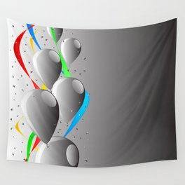 Grey Party Wall Tapestry