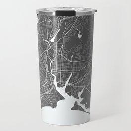 Bridgeport USA Modern Map Art Print Travel Mug