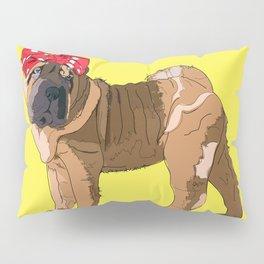 Political Pup-When We All Vote Shar Pei Pillow Sham
