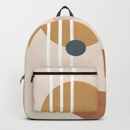 Minimal Abstract Shapes No.58 Backpack