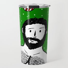 Beard Boy: Al I want for Christmas Travel Mug