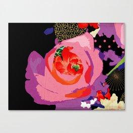 Flowers Series_v01 Canvas Print
