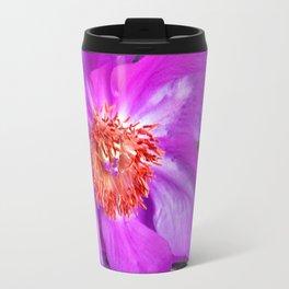 Violet Blossom - Leo Look  Travel Mug