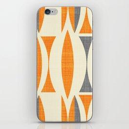 Seventies  orange iPhone Skin