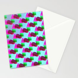 2606 Pattern cool ... Stationery Cards