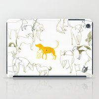 dogs iPad Cases featuring DOGS by Sara Stefanini