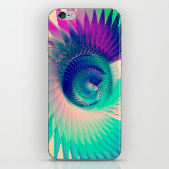 Abstract Wing iPhone & iPod Skin