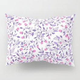 Floral doodles pink and violet Pillow Sham