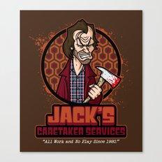 Jack's Caretaker Services Canvas Print