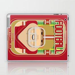 American Football Red and Gold - Enzone Puntfumbler - Josh version Laptop & iPad Skin