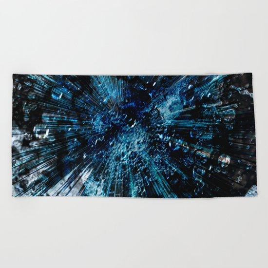 Universum blue deep Beach Towel