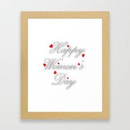 International womens day Framed Art Print