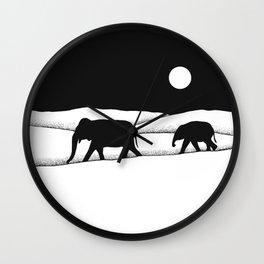 Elephants Dream II Wall Clock