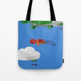 Paraturtle Tote Bag