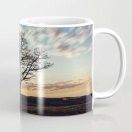 Moonlit Cirrus Clouds Coffee Mug