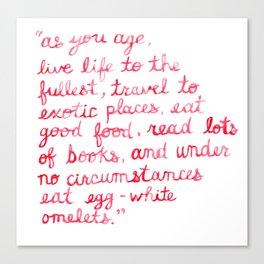Nora Ephron Canvas Print