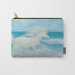 Beach Themed- Wildest Dreams- Unicorn Carry-All Pouch
