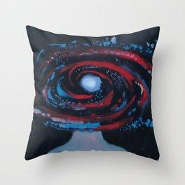 Galaxy Portrait 1 Throw Pillow