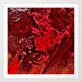 bloodland Art Print