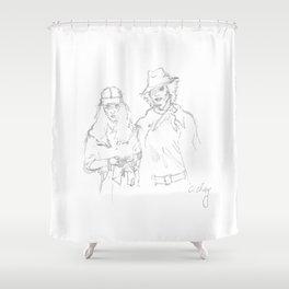 Mapplethorpe x Smith Shower Curtain