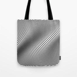 Bold Minimal Lines Tote Bag