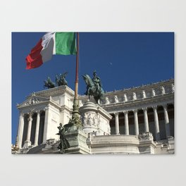 Victor Emmanuel Momument - Rome Canvas Print