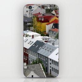 Reykjavik, Sweet. iPhone Skin