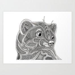 Marten Art Print