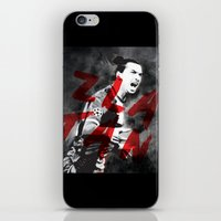 zlatan iPhone & iPod Skins featuring Zlatan by DL Design