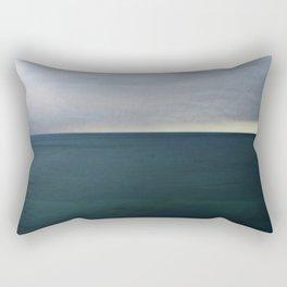 The storm flattens Rectangular Pillow