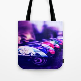 CamdenTown Vespastyle sitting Tote Bag