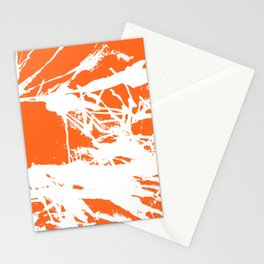 Orange Base Stationery Cards