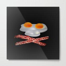 Pirate Breakfast Metal Print